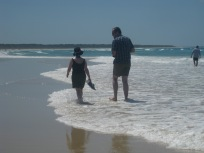 Walking Stradbroke Island's edge