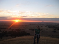 Sunset at Mt Rouse