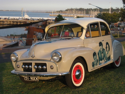 50s style car in Geelong