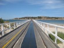 The crossing to Granite Island