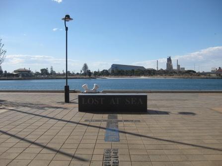 Memorial for those lost at sea