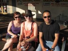 Me, Lisa and Daniel