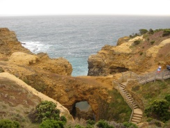 View of the grotto from above