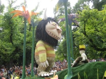 'Where the Wild Things are' at the Moomba Parade