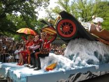 'Chitty chitty bang bang' at the Moomba Parade