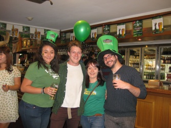 Paddy's Day Banter in Melbourne