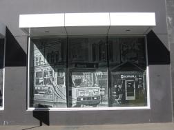 Tram street art