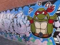 Teenage mutant ninja turtles on the loose in Fitzroy!
