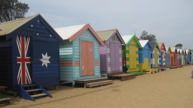 Brighton Beach Huts
