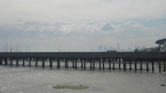 Melbourne from afar