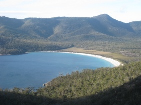 Wineglass Bay from the lookout