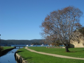 Nice colours at Port Arthur
