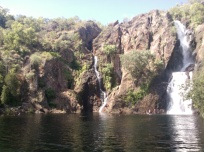 Am amazing plunge pool beside Wangi Waterfalls