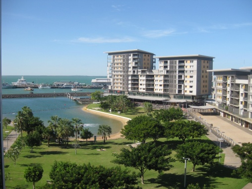 Darwin's waterfront