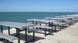 Loved these benches on the wharf!