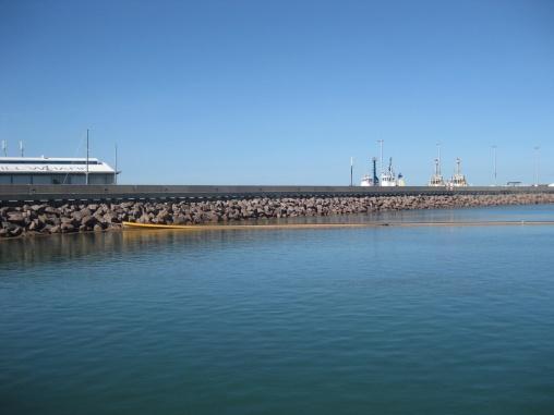 Darwin's wharf