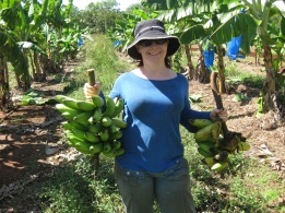 Me with my bananas!