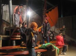 Audience participation at 'The Ship That Never Was'
