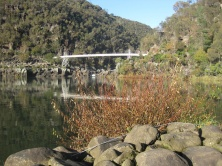 The bridge over the gorge
