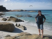 Me at Bay of Fires