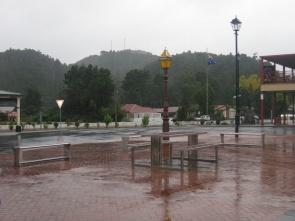 A very wet Queenstown