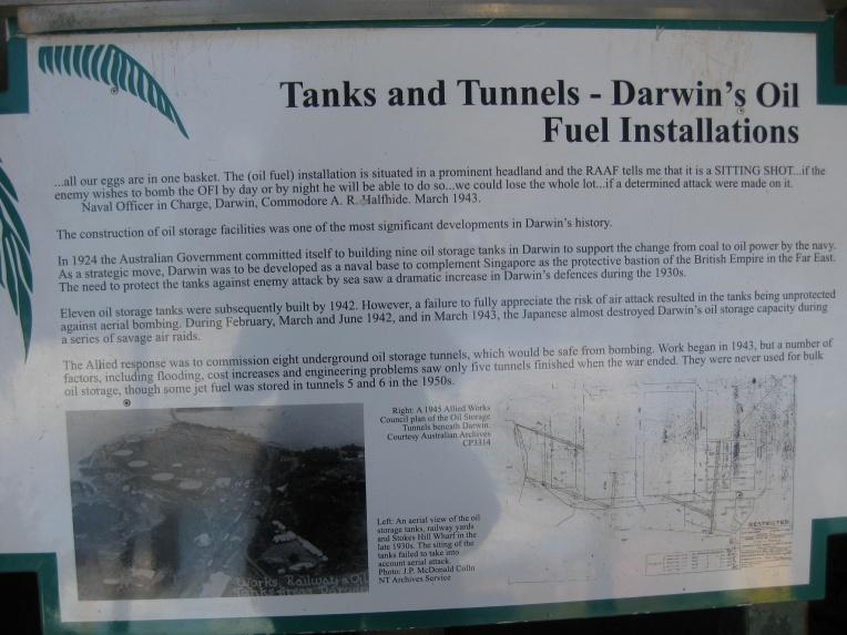Oil storage tunnels information