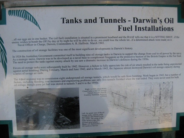 Oil storage tunnels information