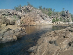A channel at Edith Falls