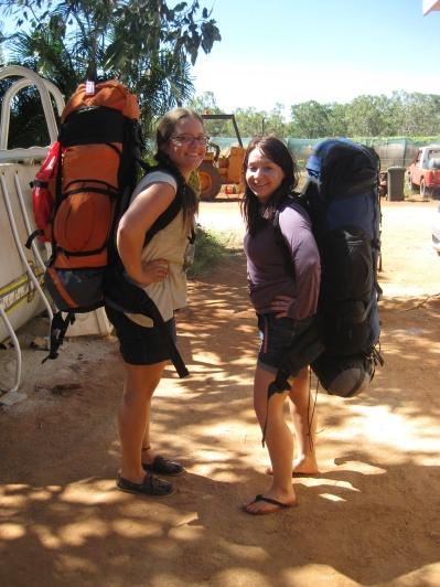 Backpacks on the move again!