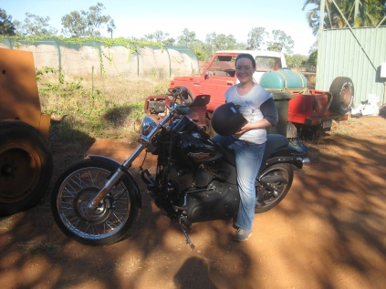 Time for a ride on a Harley?