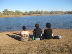 Watching the lake