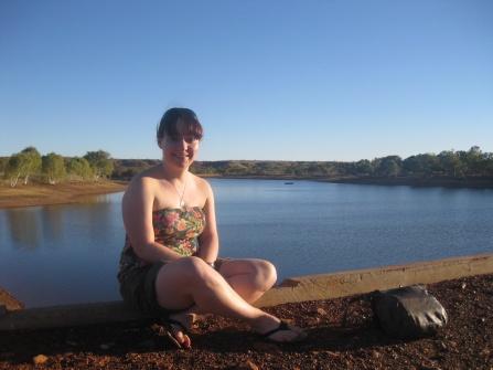 Me at Lake Mary Ann