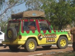 Hopefully there's no dinosaurs around... ;-)
