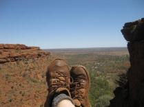 Feet at Kings Canyon