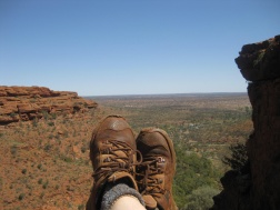Feet at Kings Canyon