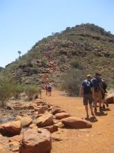 Just a bit of a climb!