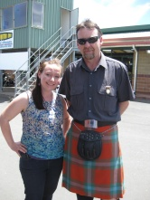 Finding a man in a kilt!