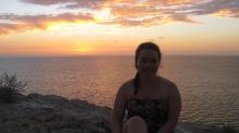 Sunset on WA's coast
