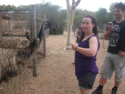 Me and an emu