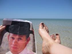 George Beach Feet