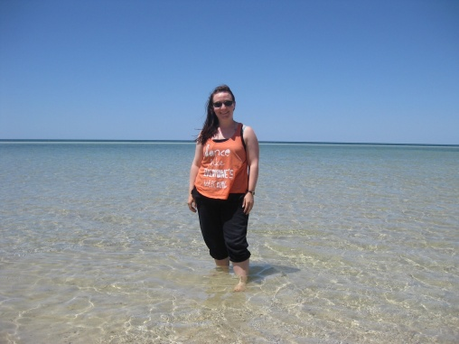 Me in the water in Busselton
