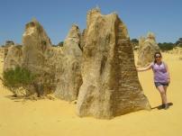 Me at the pinnacles