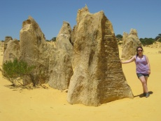 Me at the pinnacles