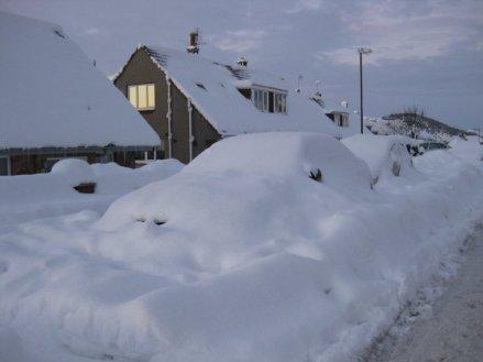Snow cars!
