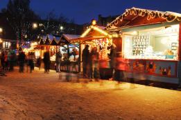 The German Market at Christmas