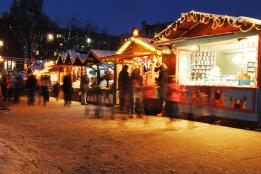 The German Market at Christmas