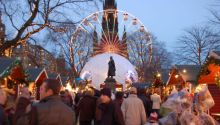The German Christmas Market in Edinburgh