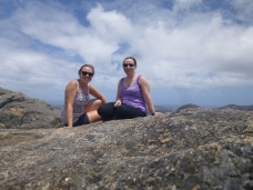 Sarah and Me at the top of Frenchman's Peak