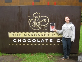 George does a chocolate factory