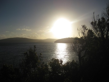 The view over Nornalup Inlet